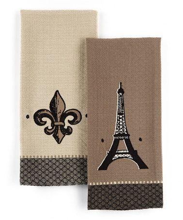 Look At This Zulilyfind Eiffel Tower Fleur De Lis Embroidered