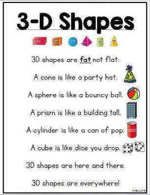 3-D Figures in Kindergarten