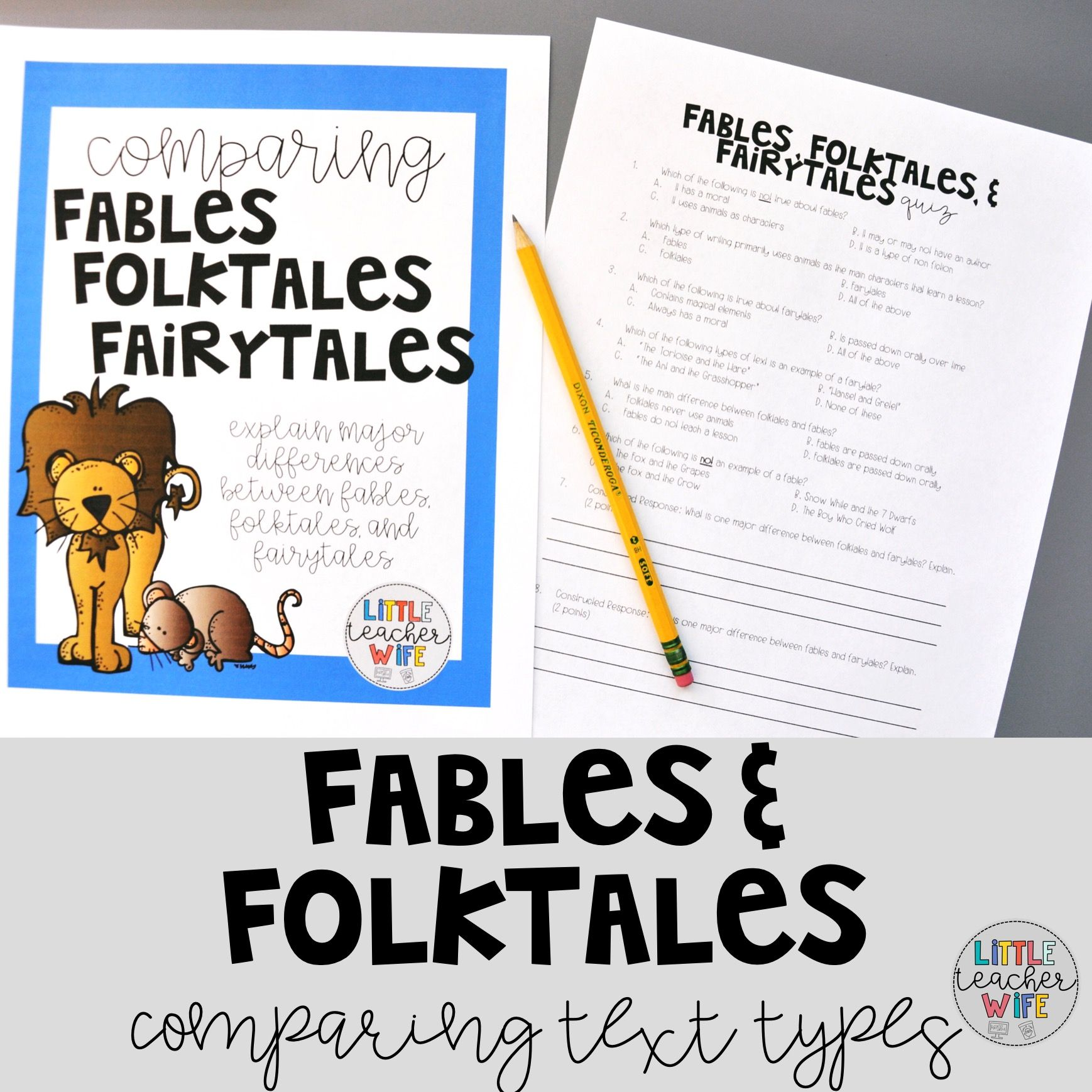Fables Folktales And Fairytales In