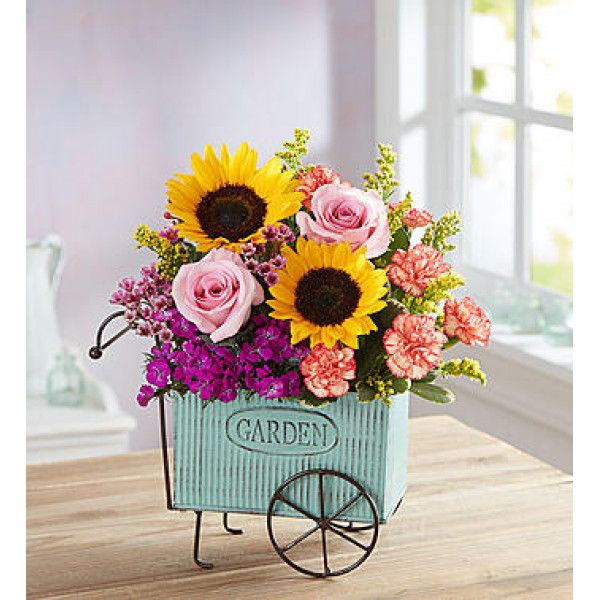European Garden Cart Small Exclusive Ooh La La Our Charming New Arrangement Will Transport Them To A Get Well Flowers Online Florist Best Flower Delivery