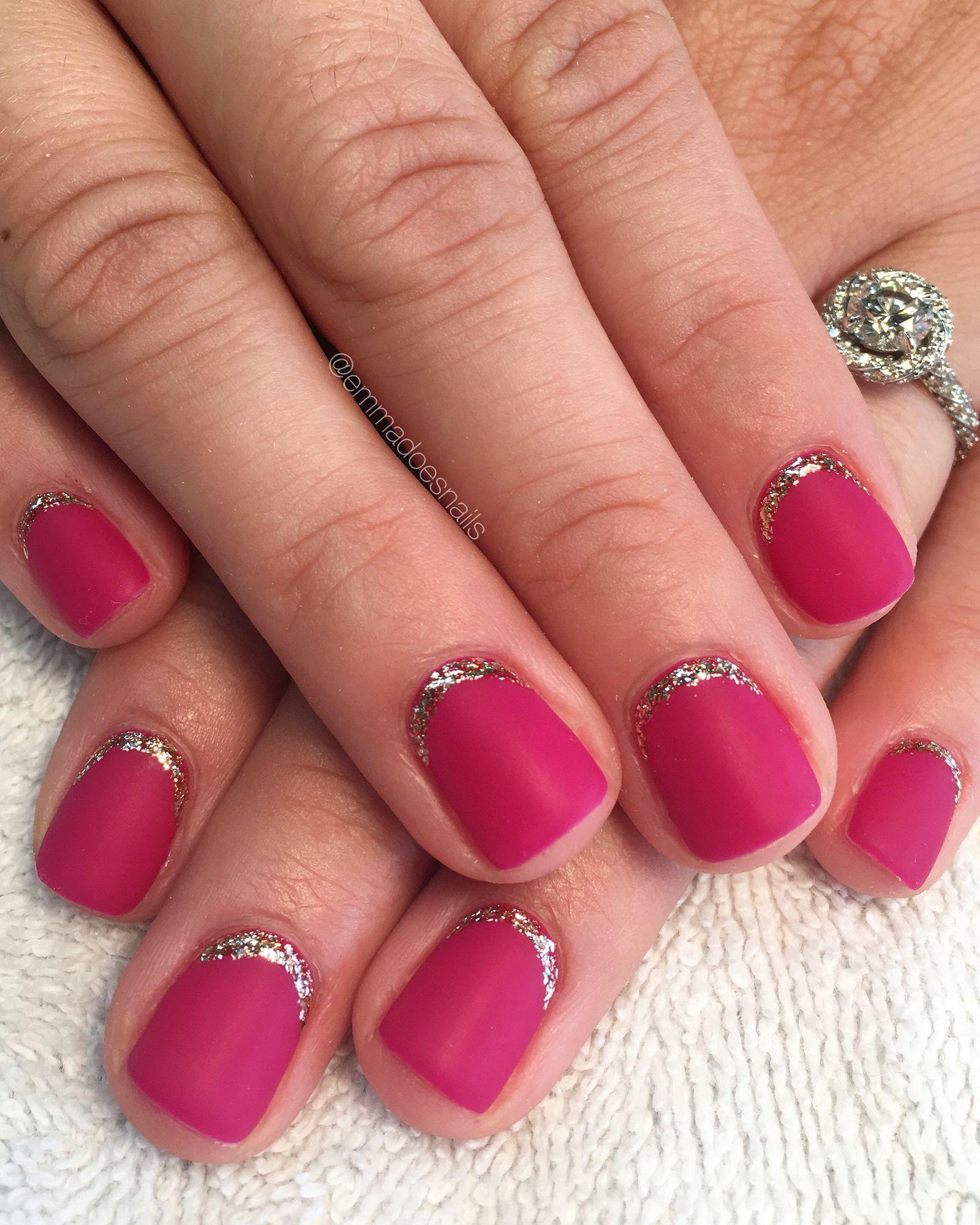 gel nails, gel mani, short nails, cute nails, emmadoesnails, Emma ...