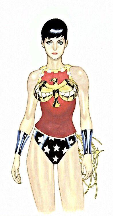 Pixie Haircut Wonder Woman Wild Wonderful Woman