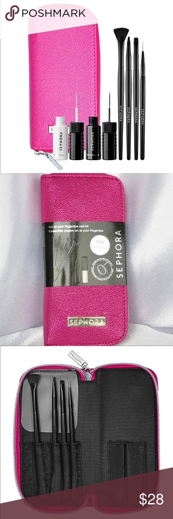 Sephora Art at Your Fingertips Nail Kit 💅 NWT Nail kit