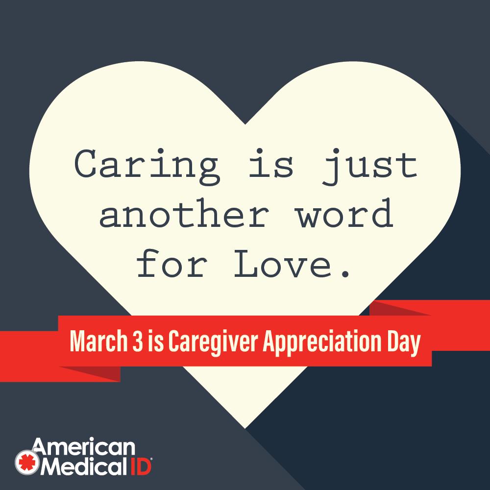 It S Caregiver Appreciation Weekend March 3 Is National Caregiver Appreciation Day But Everyday Caregi Caregiver Appreciation Words Of Appreciation Caregiver