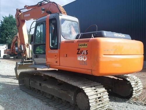 Hitachi Zaxis Zx 160lc 3 180lc 3 180lcn 3 Excavator Service Repair Manual Instant Download Repair Manuals Hitachi Repair
