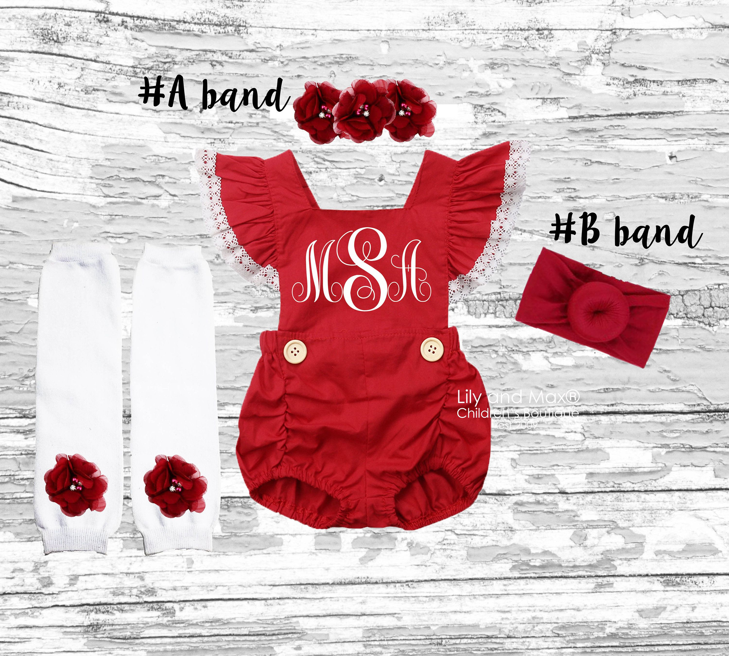 Floral Skirts Outfits Set with Headband HBER 0-24M Baby Toddler Girl Clothes Little Sister Romper Bodysuit