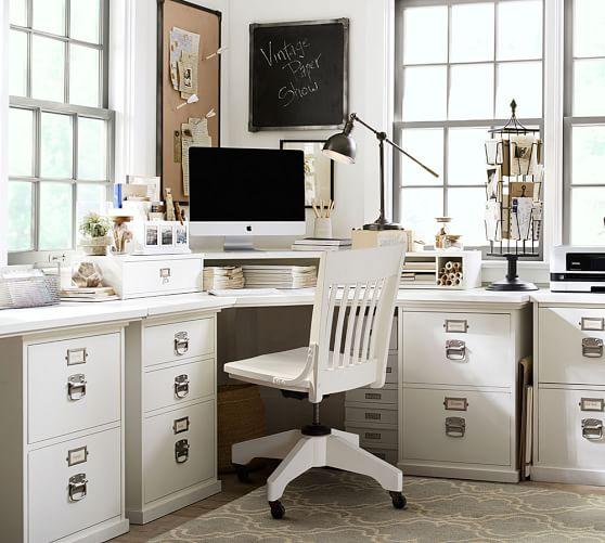 Bedford Corner Desk With Drawers Cheap Office Furniture Home Office Design Corner Desk