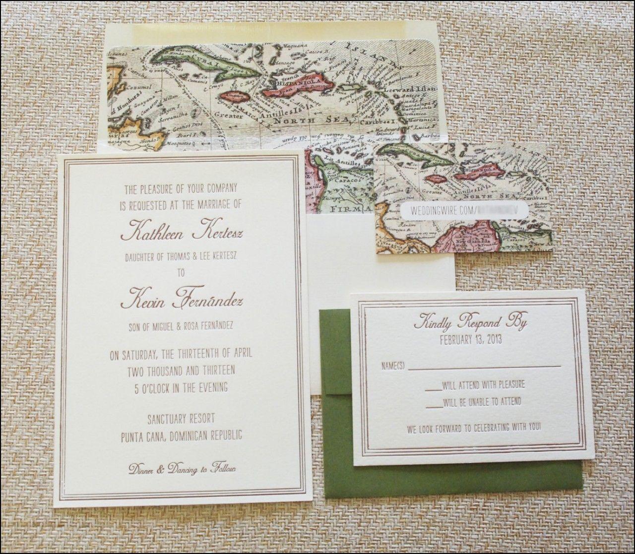Wedding Invitation Inserts Printing