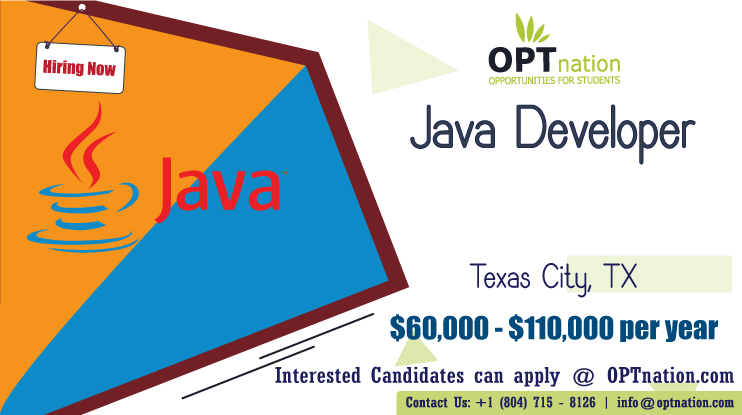 We're Hiring Java Developer. Build your career with