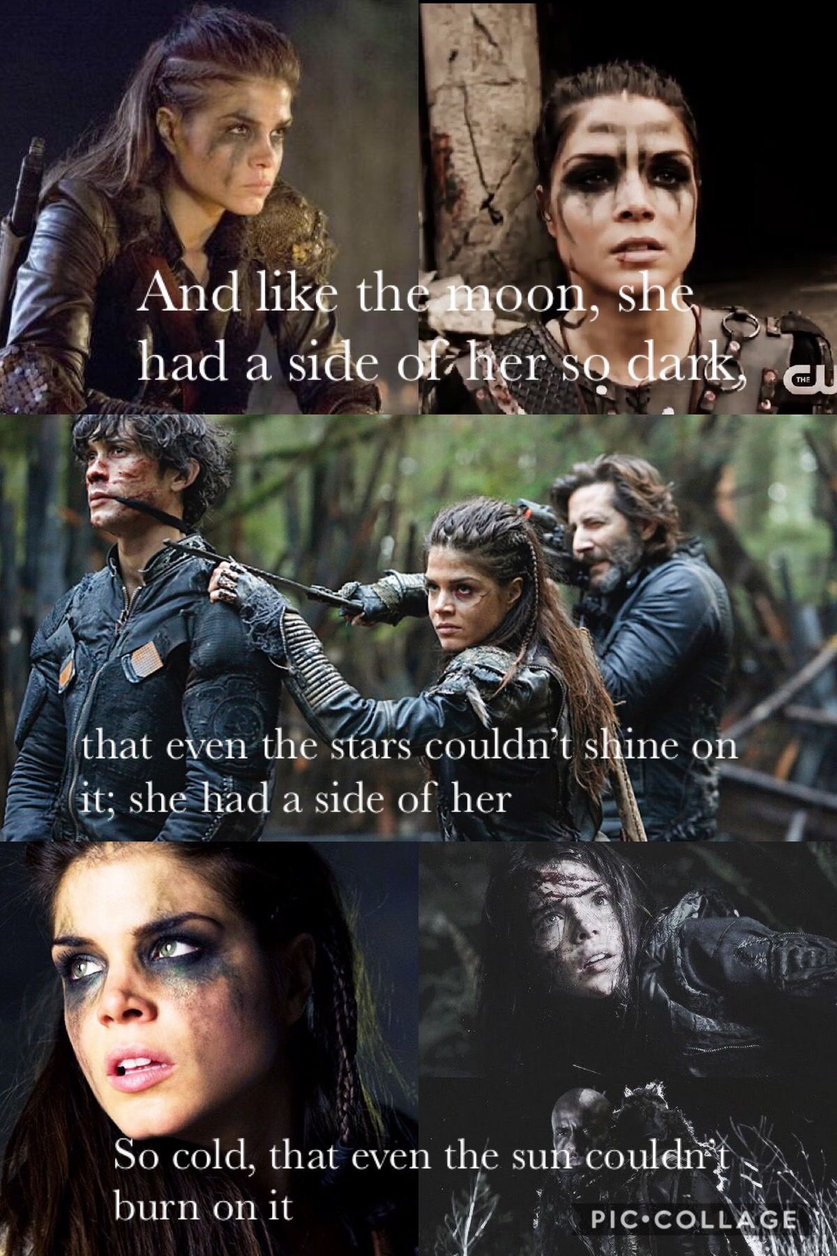 Pin by Chelsea Gritz on The 100 The 100 quotes, The 100