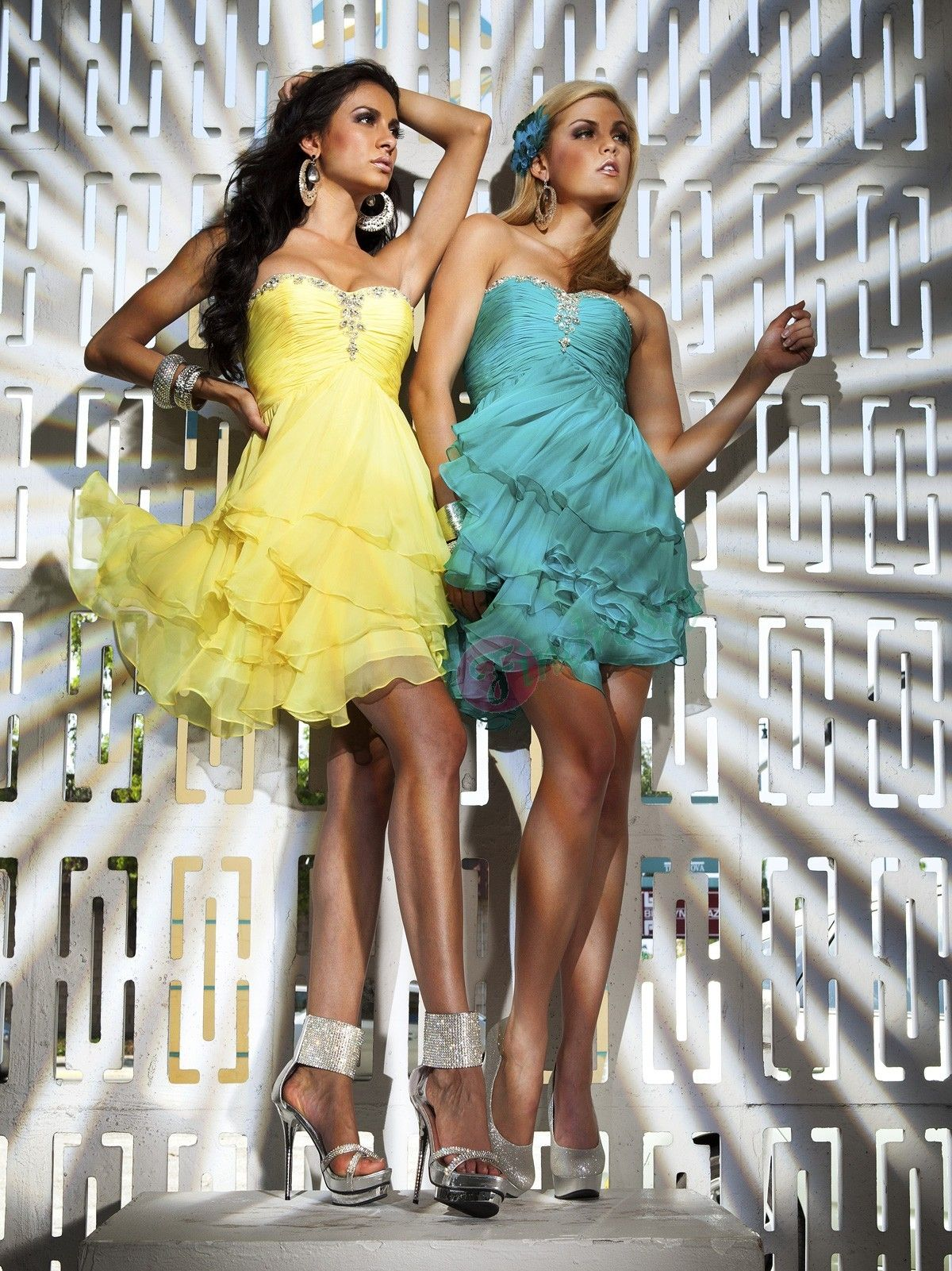Buy online Discount Princess Sweetheart Pleats Sleeveless Short / Mini Chiffon Party prom dresses under $115.99 only in Findressy.