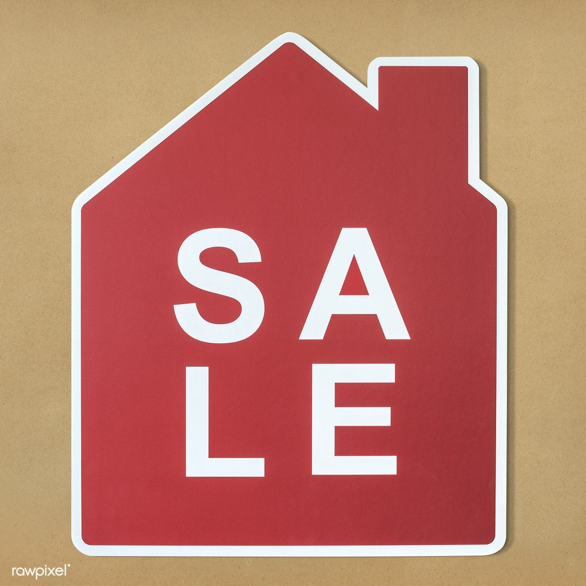 Home For Sale Icon Symbol Free Image By Rawpixel Paper Icons