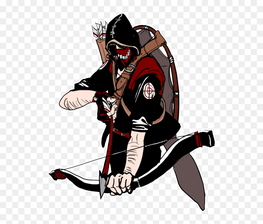 Drawn Sniper Team Fortress 2 Sniper Tf2 Sniper Anger Fanart Hd Png Download Is Pure And Creative Png Image Uploaded Tf2 Sniper Team Fortress 2 Team Fortress