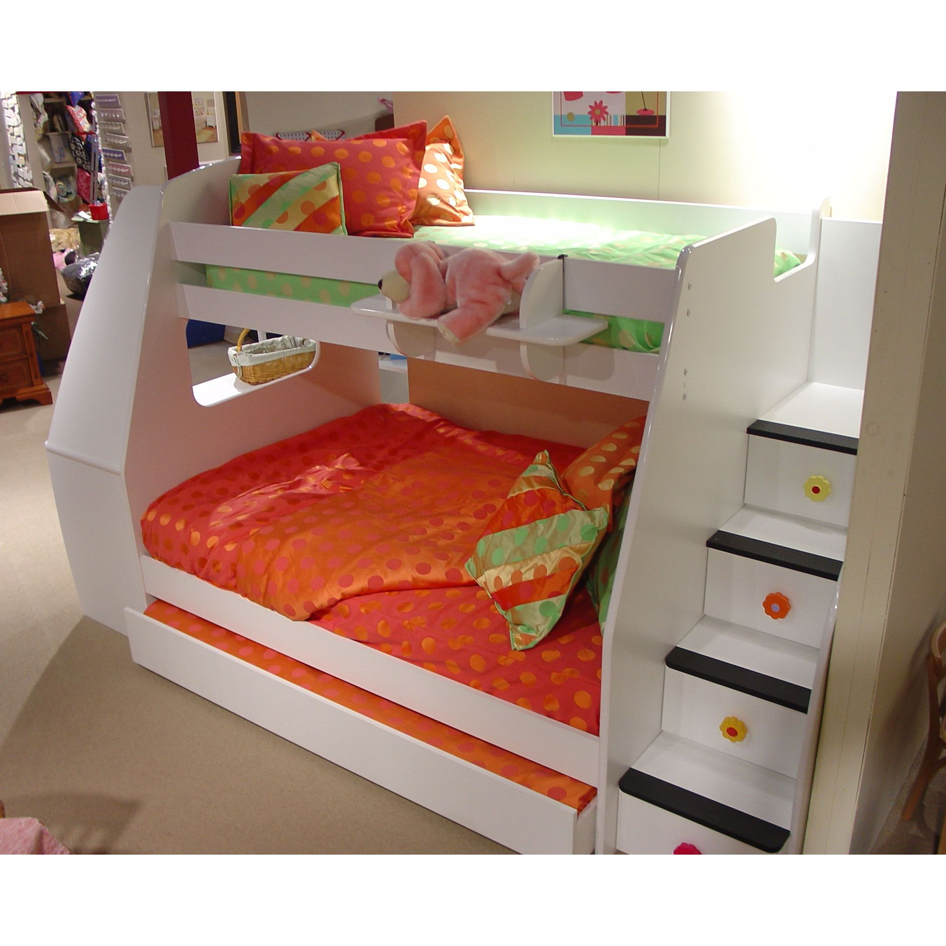 Berg Enterprise Twin Over Full Bunk Bed With Optional Desk  # Tuwi Muebles Infantiles