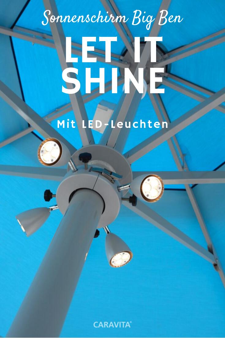 Sonnenschirm Big Ben In 2020 Sonnenschirm Schirm Led Leuchten