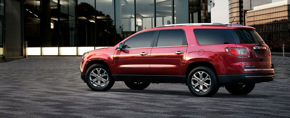 2013 Gmc Acadia Slt Exterior Photo Crossover Cars Mid Size Suv Buick Gmc
