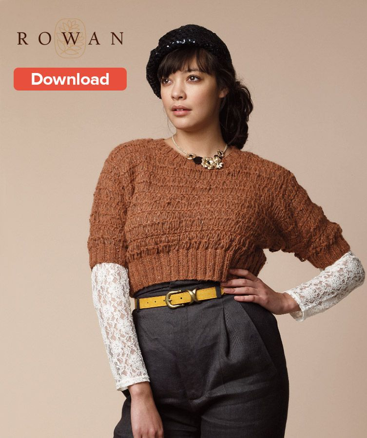 Free Rowan Aran Knitting Pattern Knitted Sweaters Aran Knitting