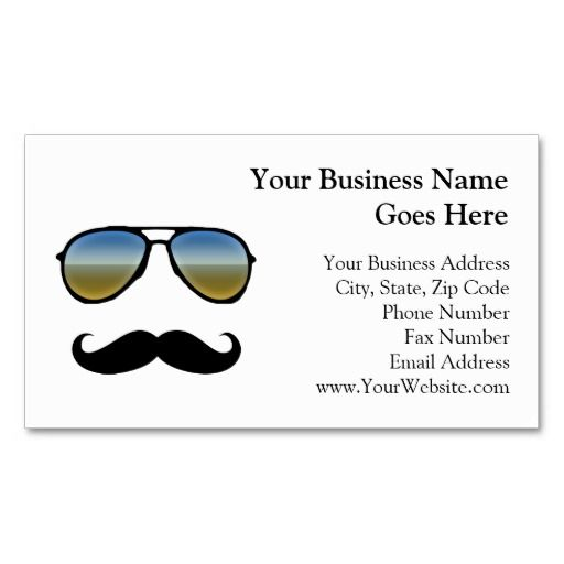 Funny retro sunglasses with moustache business card template retro funny retro sunglasses with moustache business card template wajeb Gallery