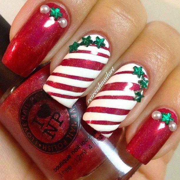 Christmas by reireishnailart nail nails nailart beautiful christmas by reireishnailart nail nails nailart prinsesfo Choice Image