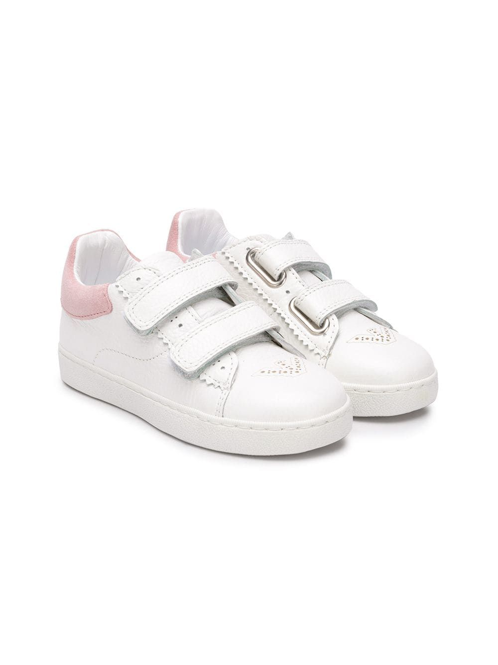 93adc8652 Emporio Armani Kids touch strap fastening sneakers