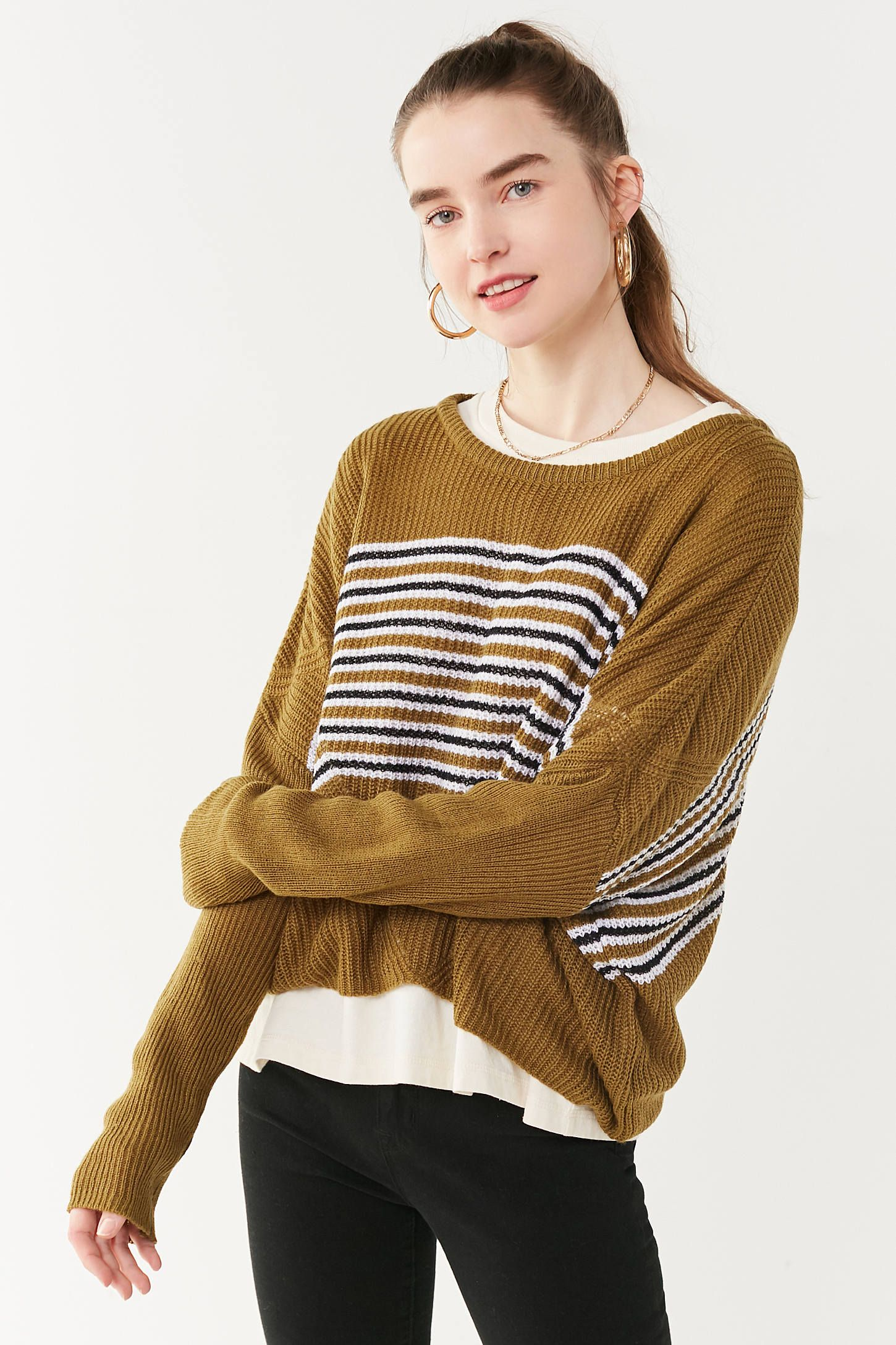 e2860caa0862c Sweaters + Cardigans for Women. UO Dolman Pullover Sweater | Urban  Outfitters