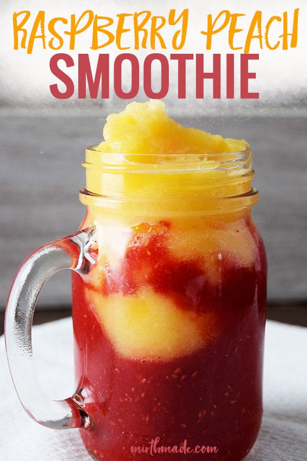 Raspberry Peach Smoothie images