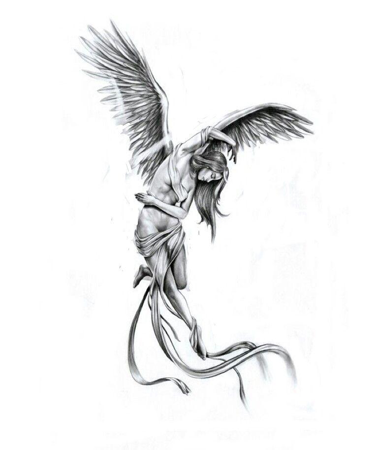 Schutzengel Engel Tattoo Vorlagen Schutzengel