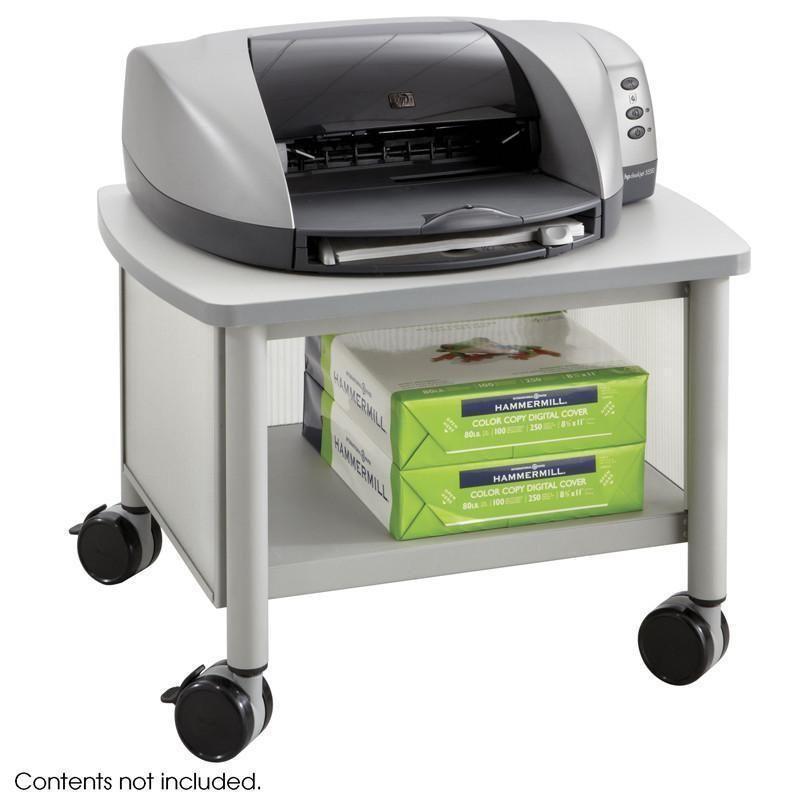 Safco 1862GR Impromptu Under Table Printer Stand