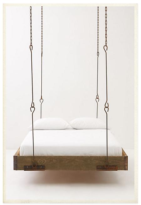 Cama colgante #bed #cama #inspiracion
