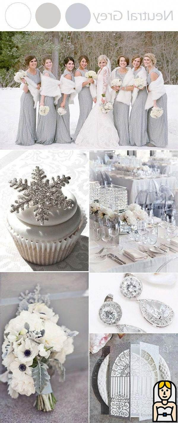 The Best 10 Winter Wedding Colors to Inspire The Best 10 Winter Wedding Colors to Inspire