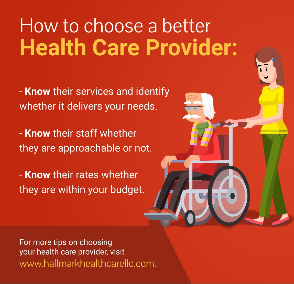 For more tips on choosing your health care provider visit