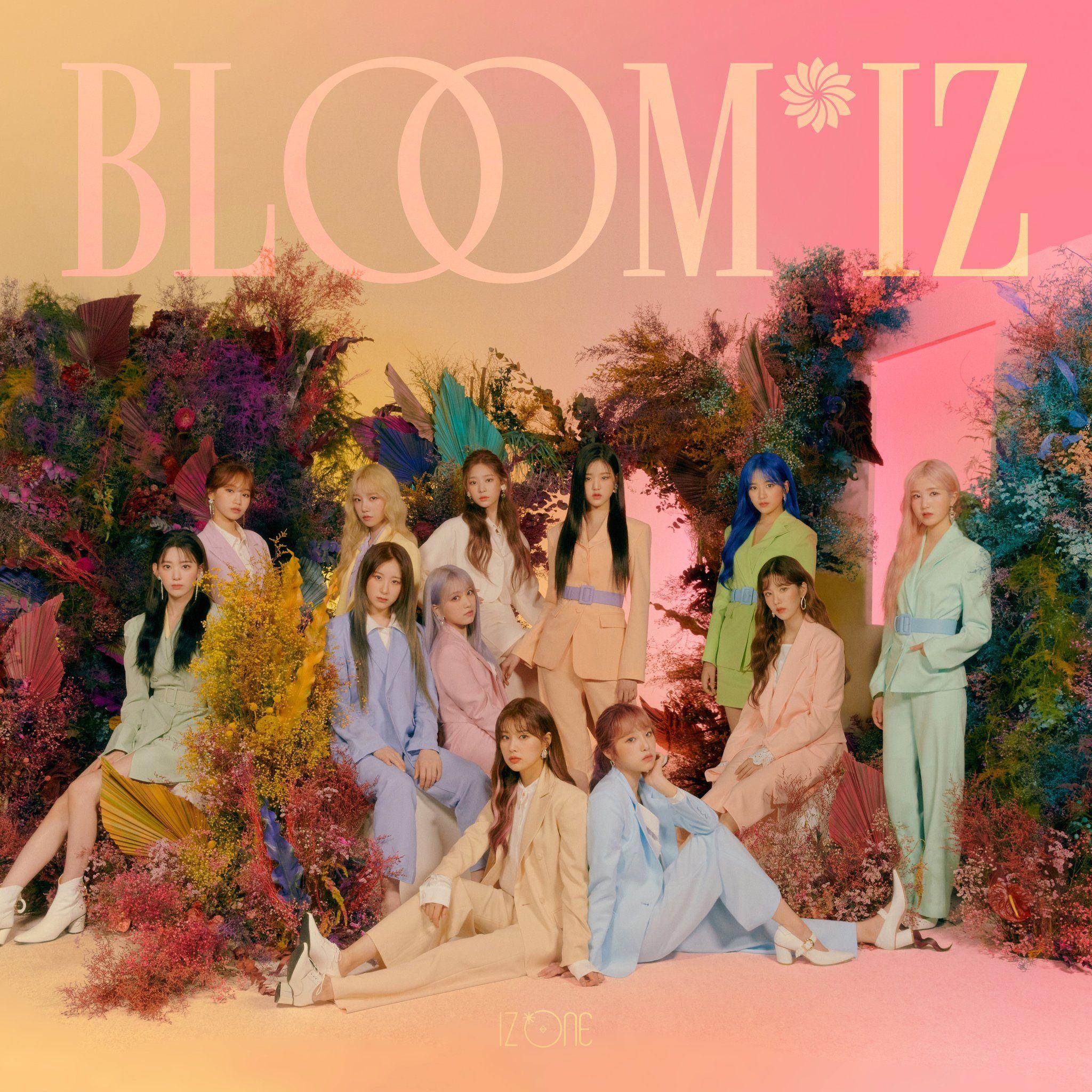 Iz One In 2020 Album Covers Bloom Album
