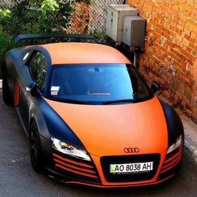 Wonderful Il Color!#audi #r8 #crazy #carspotting