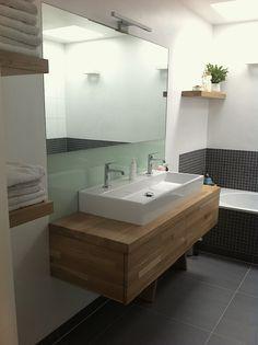 luxe badkamer hout - Google zoeken   \
