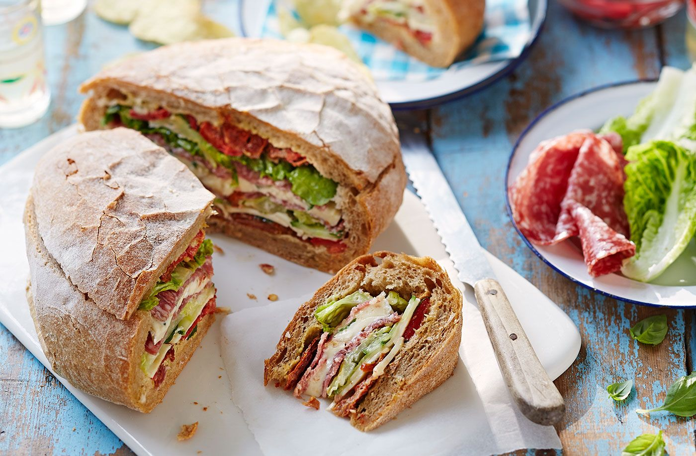 Pancetta and pepper picnic loaf recipe picnics pepper and pancetta and pepper picnic loaf recipe picnics pepper and real foods forumfinder Image collections