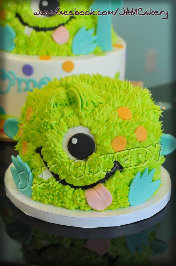 LOVE THIS LITTLE BOYs smash cake littlemonstersmash1jpg 600