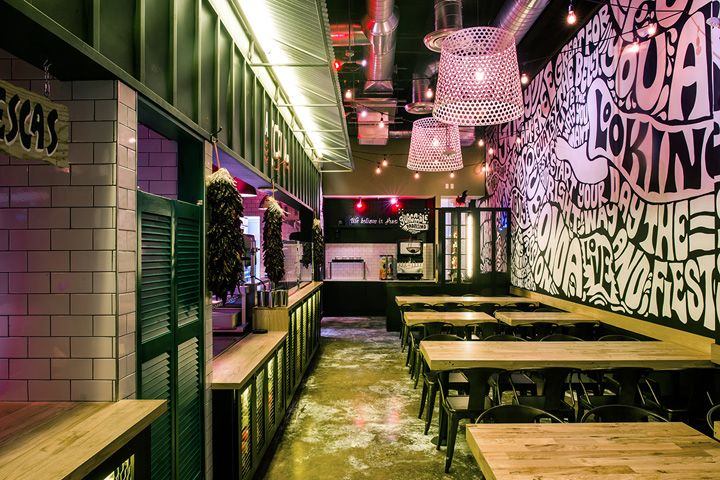 Salsa Fiesta Restaurant By Greg Gayle Casa Conde Miami Florida Retail Design