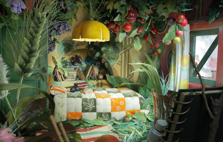 写真aアリエッティの部屋小 Jpg 三鷹の森ジブリ美術館 スタジオジブリ アニメ 背景