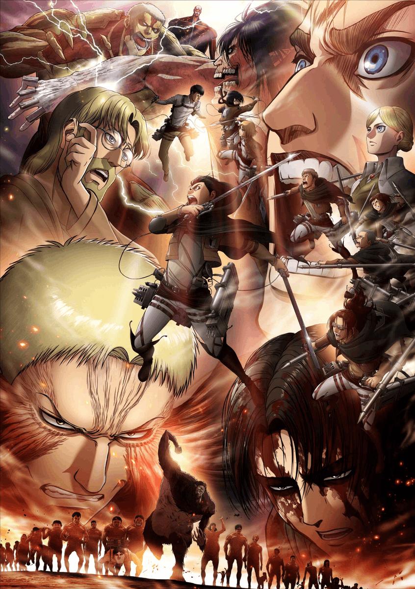 Funimation On Twitter Attack On Titan Season Attack On Titan Art Attack On Titan Anime