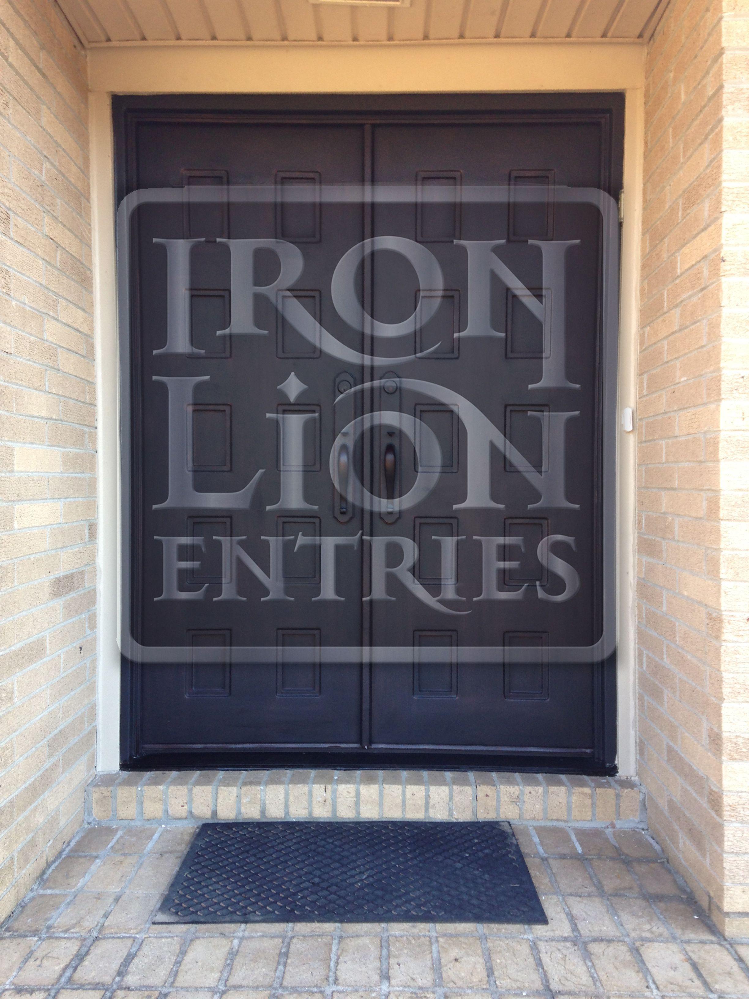 Wrought Iron Entry Door Ironentrydoor Iron Door Install In