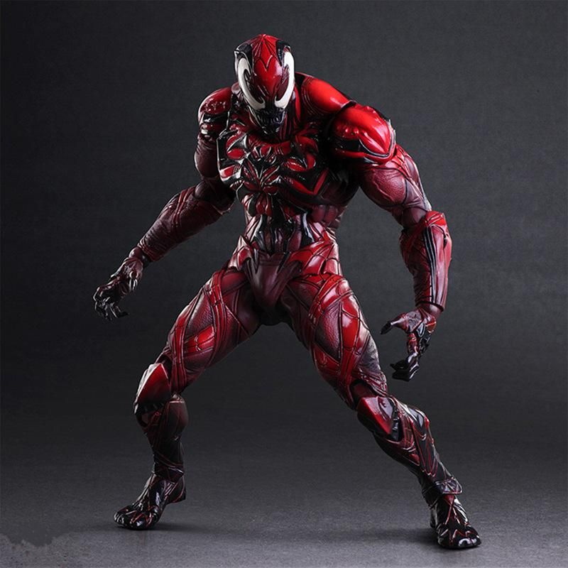 Carnage Enhanced Version Action Figure Free Shipping Play Arts Kai Action Figures Marvel Action Figures Marvel Toys