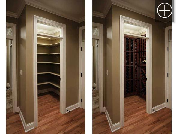Previously A Closet E This Wine Conversion Brings Your Cellar Up Out Of The Bat And Into Living In Home
