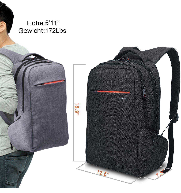 Großhandel 2019 Neupreis Shop für authentische Norsens Notebook Laptop Rucksack 15,6 Zoll Gepolstert ...