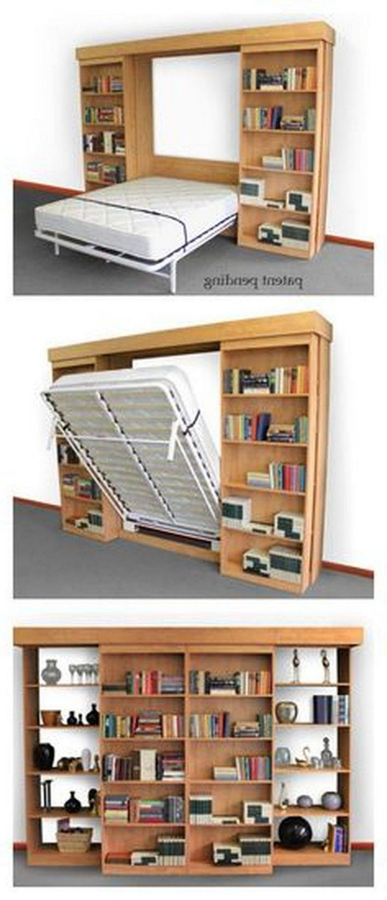 55 Intelgent Creative Folding Bed Ideas For Home Space Saving