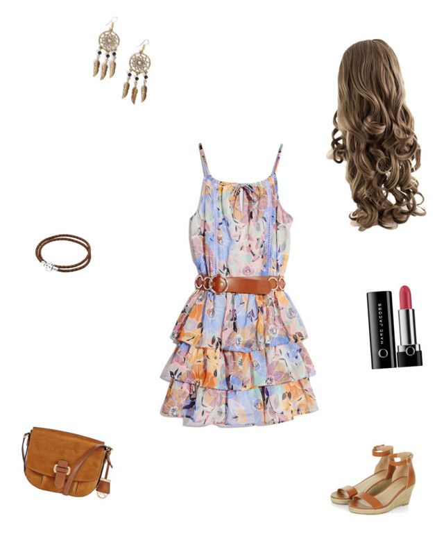 """""""Passeio com as amigas """" by luhiunes ❤ liked on Polyvore featuring GUESS by Marciano, Boohoo, Pandora, MICHAEL Michael Kors and Marc Jacobs"""