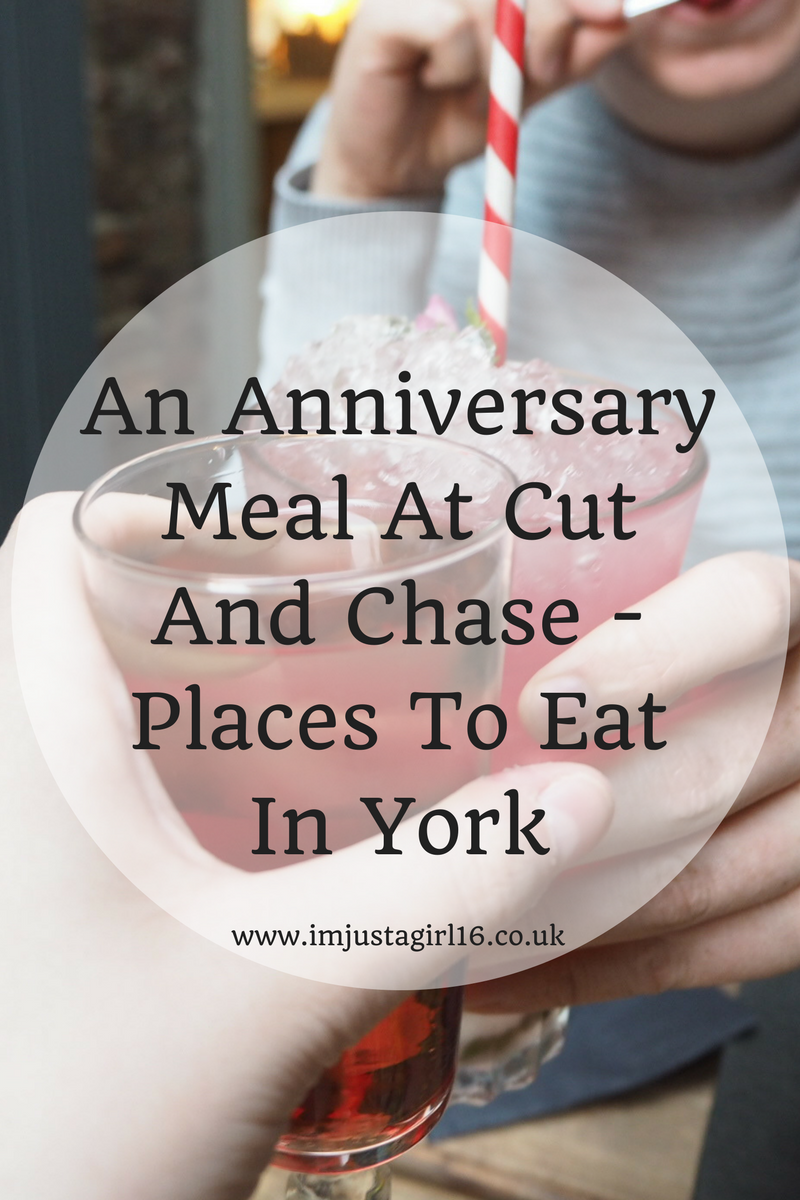 An Anniversary Meal At Cut And Chase Places To Eat In York