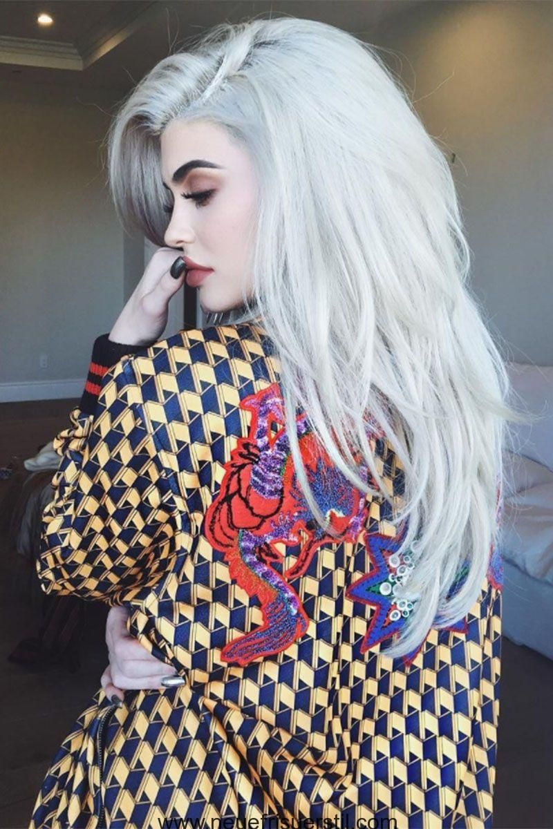silber grau blonde haare farben blonde haarfarben. Black Bedroom Furniture Sets. Home Design Ideas