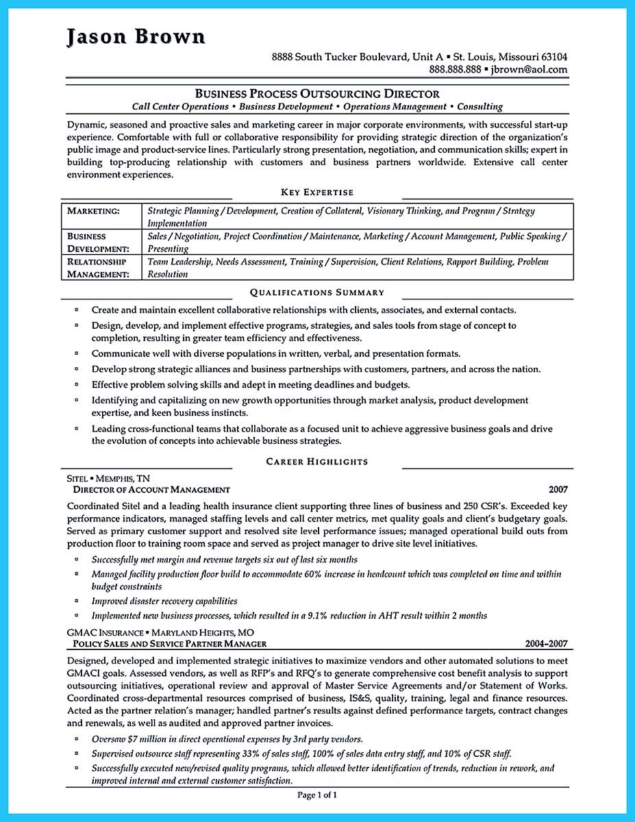 Well Written Csr Resume To Get Applied Soon Operations