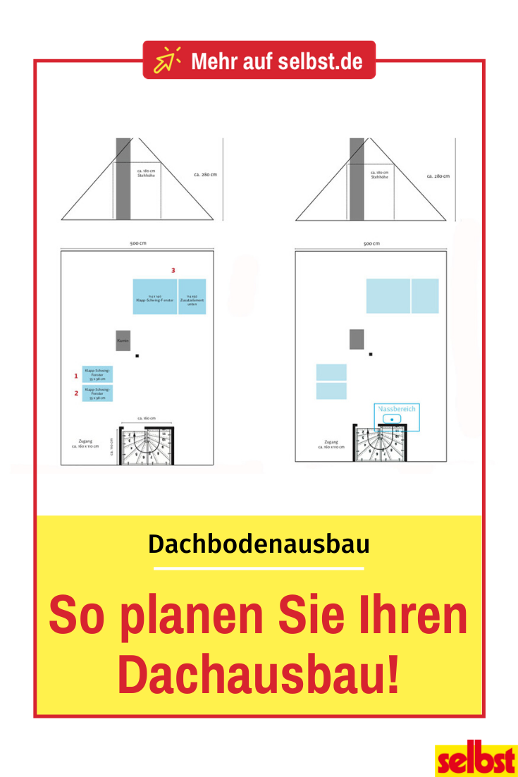 Dachausbau Planen Dachausbau Dach Dachbodenausbau