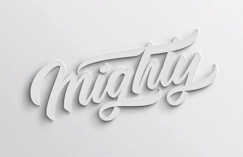 In This Photoshop Tutorial We Will Learn How To Make A 3d Looking Text Shadow Effect In Ph Typography Tutorial Photoshop Text Effects Photoshop Tutorial Text